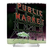 Public Market Shower Curtain