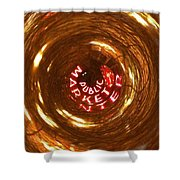 Public Market Vortex Shower Curtain