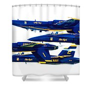Public Relations Shower Curtain