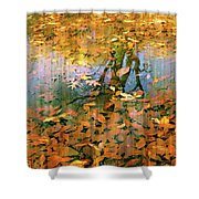 Puddle Play Shower Curtain