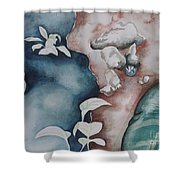 Puddle Shower Curtain