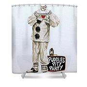 Puddles Loves Shower Curtain