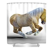 Pudge Shower Curtain