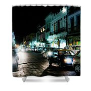 Puebla At Night 2 Shower Curtain