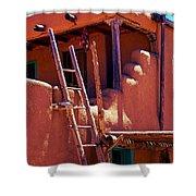 Pueblo Adobe Shower Curtain