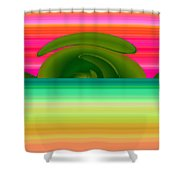 Pueblo Castle Shower Curtain