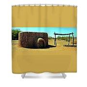 Pueblo Museum 4 Shower Curtain