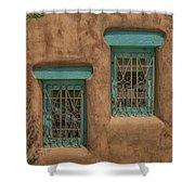 Pueblo Windows Nm Square Img_8336 Shower Curtain