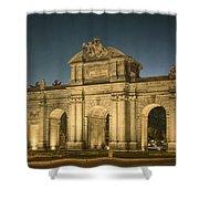 Puerta De Alcala Night Shower Curtain