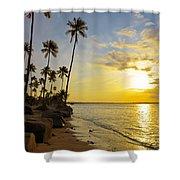 Puerto Rico Sunset Shower Curtain