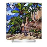 Puerto Vallarta Landscape Shower Curtain