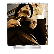 Puffing Pipe Dreams Shower Curtain