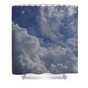 Puffy Clouds II Shower Curtain