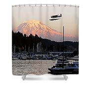 Puget Sound Landing Shower Curtain