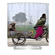 Pull Of Life Shower Curtain