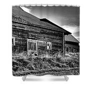 Pullman Barns Shower Curtain
