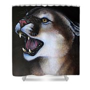 Puma II Shower Curtain