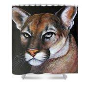 Puma Shower Curtain