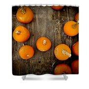 Pumpkin Tops Shower Curtain