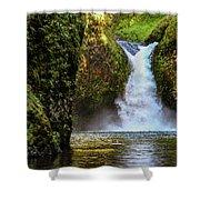 Punch Bowl Falls, Oregon Shower Curtain