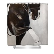 Punch Shower Curtain