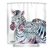 Punda Milia Zebra Shower Curtain