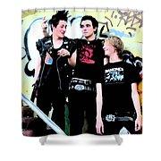 Punk Shower Curtain