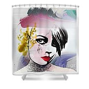 Punk Shower Curtain