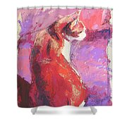 Punkin Shower Curtain