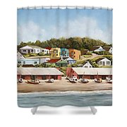 Punta Del Diablo 2 Shower Curtain