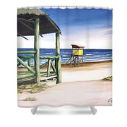Punta Del Diablo S Morning Shower Curtain