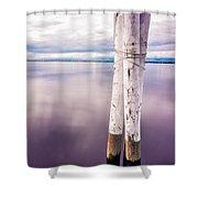 Punta Gorda Bay Shower Curtain