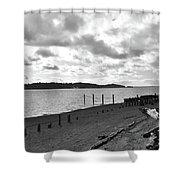 Purdy Beach Shower Curtain