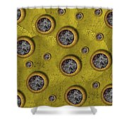 Pure Abstract Popart Shower Curtain