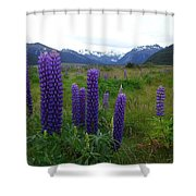 Pure And Simple Nature Of New Zealand Shower Curtain
