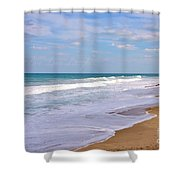 Pure Beach Shower Curtain