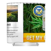 Pure Cbd Solace Shower Curtain