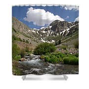 Pure Mountain Beauty Shower Curtain