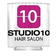 Pure Salon Boca Raton Shower Curtain