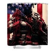 Pure Valor Shower Curtain