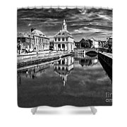 Purfleet Quay King's Lynn Shower Curtain