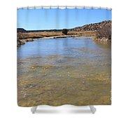 Purgatoire River 2 Shower Curtain