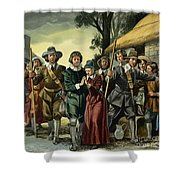 Puritans Shower Curtain