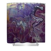 Purple Abyss Shower Curtain