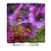Purple And Yellow Morning 9121 Idp_2 Shower Curtain