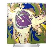 Purple Calla Lilly Shower Curtain