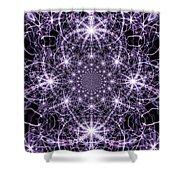 Purple Celeste  Shower Curtain