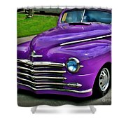 Purple Cruise Shower Curtain