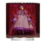 Purple Doll Shower Curtain