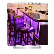 Purple Electric Shower Curtain